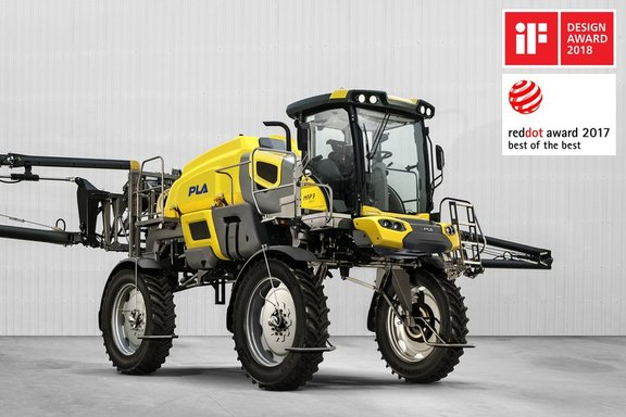 Our cabin for the self propelled sprayer won the iF DESIGN AWARD 2018 in the product design discipline, category automobiles and vehicles